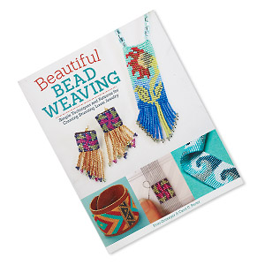 book, beautiful bead weaving: simple techniques and patterns for creating stunning loom jewelry by fran ortmeyer  carol c. porter. sold individually.