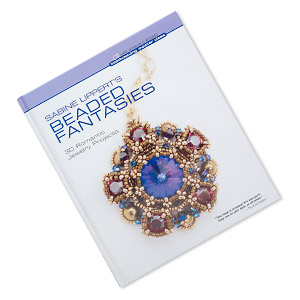 book, sabine lipperts beaded fantasies: 30 romantic jewelry projects by lark jewelry  beading. sold individually.