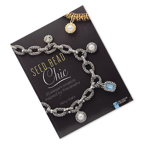 book, seed bead chic: 25 elegant projects inspired by fine jewelry by amy katz. sold individually.