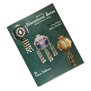 book, the international series: beaded ornament covers by karen desousa. sold individually.