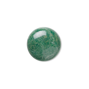 cabochon, african jade (natural), 18mm calibrated round, b grade, mohs hardness 7. sold per pkg of 2.