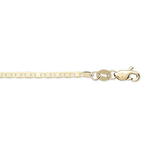 chain, 14kt gold, 1.7mm anchor, 20 inches with lobster claw clasp. sold individually.
