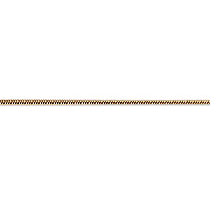chain, gossamer™, 14kt gold-filled, 1mm snake, 18 inches with springring clasp. sold individually.