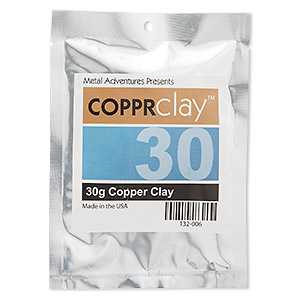copprclay™, 1700-degree formula. sold per 30-gram pkg.