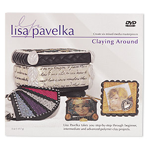 dvd, claying around instructional video with lisa pavelka. sold individually.