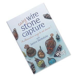 dvd, easy wire stone capture: 4 alternative ways to set stones instructional video with janice berkebile. sold individually.