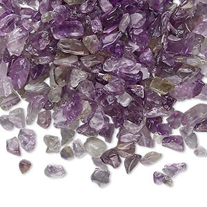 embellishment, amethyst (natural), mini undrilled chip, mohs hardness 7. sold per 50-gram pkg, approximately 700-950 pieces.