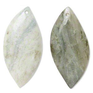 focal, amazonite (natural), 56x26mm single-sided marquise, c grade, mohs hardness 6 to 6-1/2. sold per pkg of 2.