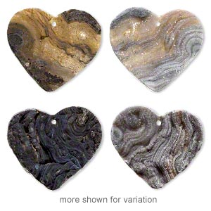 focal, druzy agate (natural), 40x35mm-43x40mm top-drilled heart, mohs hardness 6-1/2 to 7. sold individually.