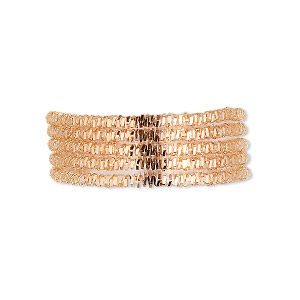 french wire, gold-plated copper, 1.5mm fancy spiral. sold per 20-gram pkg, approximately 25 feet.