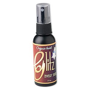 jewelry cleaner, glitz jewelry shiner, organic cleaner. sold per 2-ounce bottle.