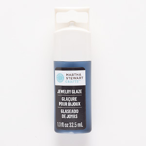 jewelry glaze, beetle black. sold per 1.1-fluid ounce bottle.