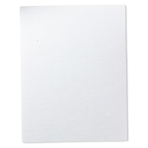 lacys stiff stuff™, beading foundation, white, 11x8-1/2 inch sheet. sold individually.