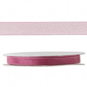 organza ribbon, nylon, rose, 1/4 inch. sold per 33-yard spool.