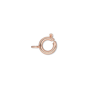 Springring Copper Plated/Finished Copper Colored