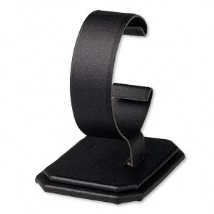 Bracelet Displays Leatherette Blacks