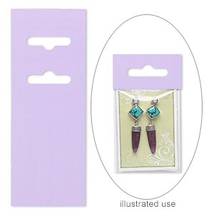 Other Display Cards Paper Purples / Lavenders