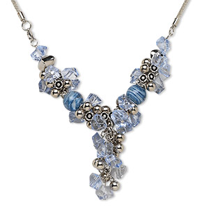 Y Necklaces Blues Everyday Jewelry