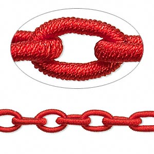Unfinished Chain Nylon Reds