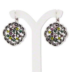 Leverback Earrings Multi-colored Everyday Jewelry