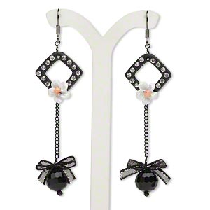 Fishhook Earrings Blacks Everyday Jewelry