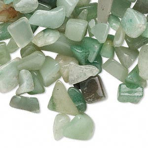 Undrilled Mini Chips Grade D Aventurine