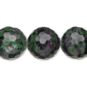 Beads Grade C Ruby In Zoisite