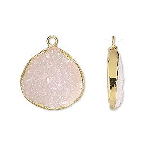 Drops Druzy Agate Pinks