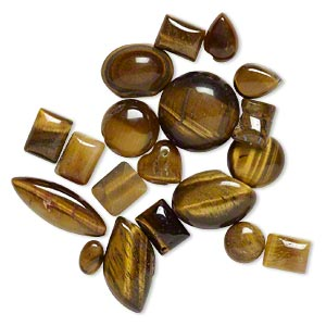 Cabochons Tigereye Browns / Tans