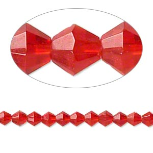 Beads Glass Reds