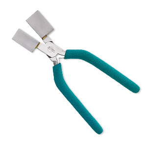 pliers, wubbers designer mandrel, jumbo square mandrel, steel and rubber, 7 inches. sold individually.