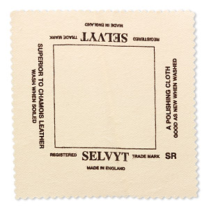 polishing cloth, selvyt, 5x5-inch square. sold individually.