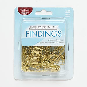 40 safety pin pkg