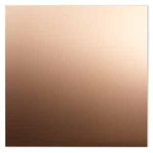 sheet, copper, half-hard with mirror finish, 6x6-inch square, 20 gauge. sold individually.