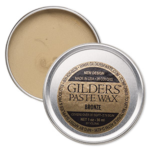 wax paste, gilders paste, bronze. sold per 1-ounce canister.