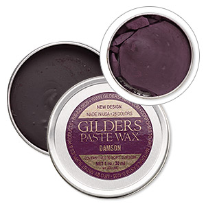 wax paste, gilders paste, damson. sold per 1-ounce canister.
