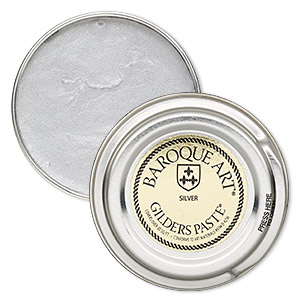 wax paste, gilders paste, silver. sold per 1-ounce canister.