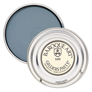 wax paste, gilders paste, slate. sold per 1-ounce canister.