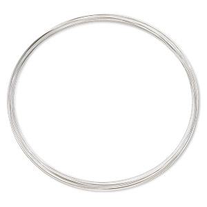 wire, stainless steel, half-hard, round, 28 gauge. sold per pkg of 12 feet.
