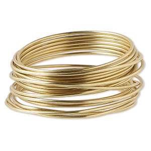 wire, wrapit, jewelers bronze, dead-soft, round, 12 gauge. sold per 1/4 pound spool, approximately 13 feet.